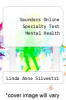 cover of Saunders Online Specialty Test Mental Health