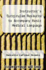 cover of Instructor`s Curriculum Resource to Accompany Basic Medical Language