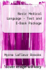 cover of Basic Medical Language - Text and E-Book Package (2nd edition)