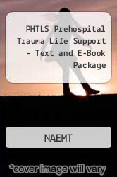 Cover of PHTLS Prehospital Trauma Life Support - Text and E-Book Package 6 (ISBN 978-0323061841)