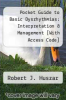 cover of Pocket Guide to Basic Dysrhythmias: Interpretation & Management [With Access Code] (3rd edition)