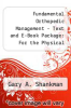 cover of Fundamental Orthopedic Management - Text and E-Book Package: For the Physical Therapist Assistant (2nd edition)