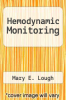 cover of Hemodynamic Monitoring: Evolving Technologies and Clinical Practice