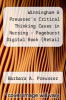 "cover of Winningham & Preusser`s Critical Thinking Cases in Nursing - Pageburst Digital Book (Retail Access Card): ""Medical-Surgical, Pediatric, Maternity, and Psychiatric Case Studies"" (4th edition)"