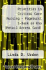 cover of Priorities in Critical Care Nursing - Pageburst E-Book on Kno (Retail Access Card) (6th edition)