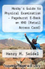 cover of Mosby`s Guide to Physical Examination - Pageburst E-Book on KNO (Retail Access Card) (7th edition)