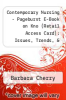 cover of Contemporary Nursing - Pageburst E-Book on Kno (Retail Access Card): Issues, Trends, & Management (5th edition)