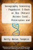 cover of Sonography Scanning - Pageburst E-Book on Kno (Retail Access Card), Principles and Protocols (4th edition)
