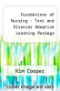 cover of Foundations of Nursing - Text and Elsevier Adaptive Learning Package (7th edition)