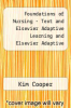 cover of Foundations of Nursing - Text and Elsevier Adaptive Learning and Elsevier Adaptive Quizzing (Retail Access Cards) Package (7th edition)