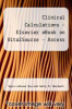 cover of Clinical Calculations - Elsevier eBook on Vitalsource (Retail Access Card) (8th edition)