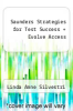 cover of Saunders Strategies for Test Success + Evolve Access