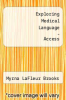cover of Elsevier Adaptive Learning for Exploring Medical Language (Access Card) (10th edition)