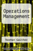 cover of Operations Management (9th edition)