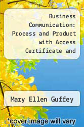 Cover of Business Communication: Process and Product with Access Certificate and InforTrac 5 (ISBN 978-0324312232)