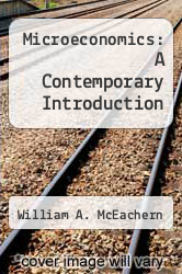 Cover of Microeconomics: A Contemporary Introduction 7 (ISBN 978-0324322545)
