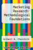 cover of Marketing Research: Methodological Foundations (10th edition)