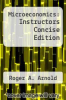 cover of Microeconomics: Instructors Concise Edition