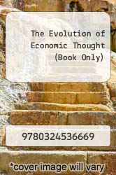 Cover of The Evolution of Economic Thought (Book Only) 7 (ISBN 978-0324536669)