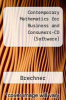 cover of Contemporary Mathematics for Business and Consumers-CD (Software) (5th edition)