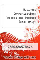 Cover of Business Communication: Process and Product (Book Only) 6 (ISBN 978-0324578676)
