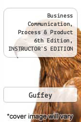 Cover of Business Communication, Process & Product 6th Edition, INSTRUCTOR