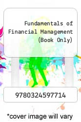 Cover of Fundamentals of Financial Management (Book Only) 12 (ISBN 978-0324597714)