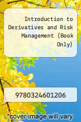 Introduction to Derivatives and Risk Management (Book Only) by N and A - ISBN 9780324601206