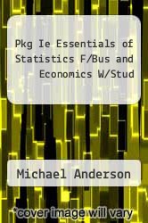 Cover of Pkg Ie Essentials of Statistics F/Bus and Economics W/Stud  (ISBN 978-0324654226)