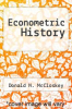 cover of Econometric History