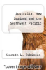 cover of Australia, New Zealand and the Southwest Pacific (2nd edition)