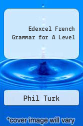 Cover of Edexcel French Grammar for A Level EDITIONDESC (ISBN 978-0340968529)