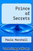 cover of Prince of Secrets