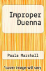 cover of Improper Duenna