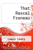 cover of That Rascal Freneau