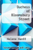 cover of Duchess of Bloomsbury Street