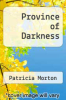 cover of Province of Darkness