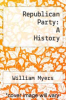 cover of Republican Party: A History