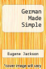 cover of German Made Simple