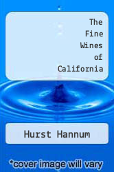 Cover of The Fine Wines of California EDITIONDESC (ISBN 978-0385023603)