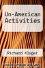 cover of Un-American Activities