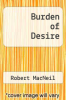 cover of Burden of Desire