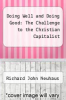 cover of Doing Well and Doing Good: The Challenge to the Christian Capitalist
