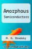 cover of Amorphous Semiconductors (2nd edition)