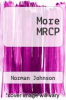 cover of More MRCP