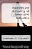 cover of Existence and Optimality of Competitive Equilibria