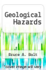 cover of Geological Hazards