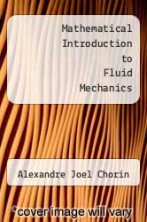 Cover of Mathematical Introduction to Fluid Mechanics EDITIONDESC (ISBN 978-0387904061)