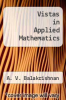 cover of Vistas in Applied Mathematics