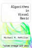 cover of Algorithms in Visual Basic (1st edition)